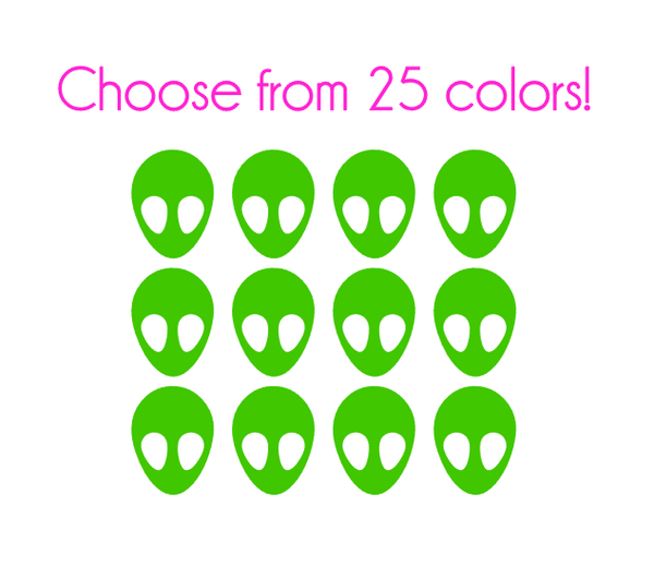 Alien Nail Decals
