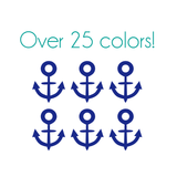 Anchors Nail Decals