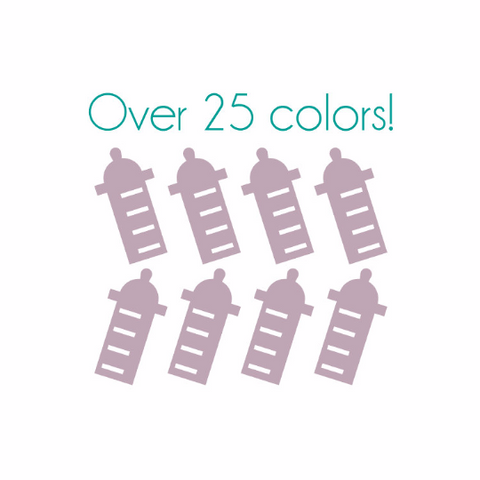Baby Bottle Nail Decals