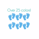 Baby Feet Nail Decals