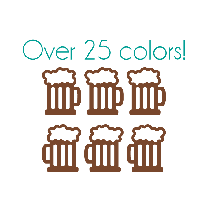 Beer Nail Decals