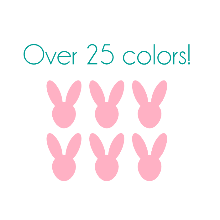 Mini Bunny Nail Decals