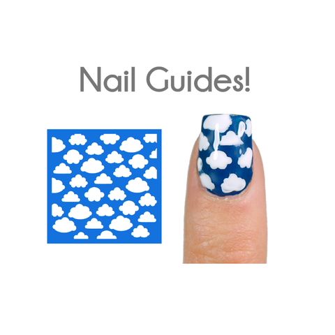 Cloudy Skies Vinyl Nail Guides