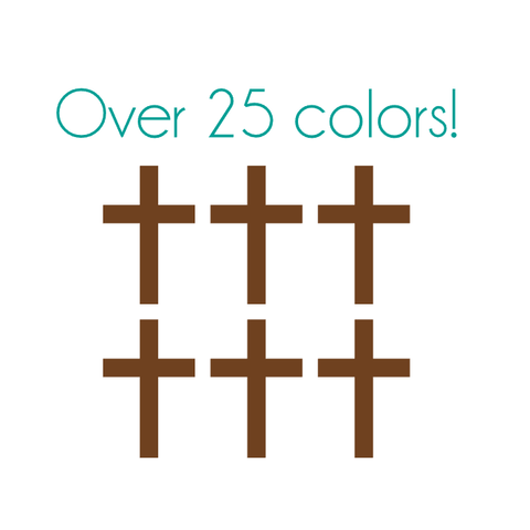 Cross Nail Decals