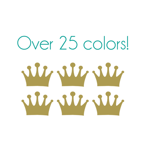 Crown Nail Decals