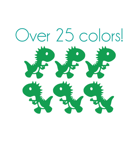 Cute Dinosaur Nail Decals