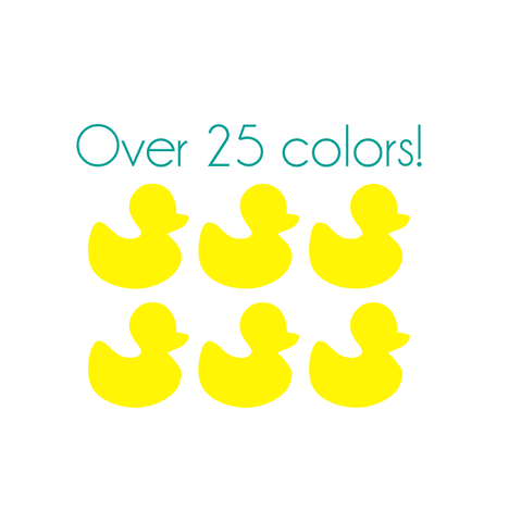 Duck Nail Decals