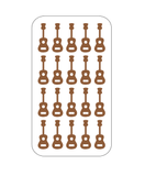 Guitar Nail Decals