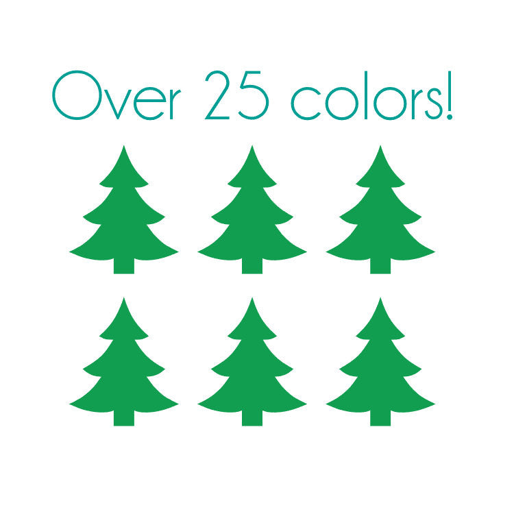 christmas tree nail decals stylish