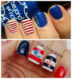 Anchor Nail Decals