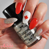 Maple Leaf Nail Decals
