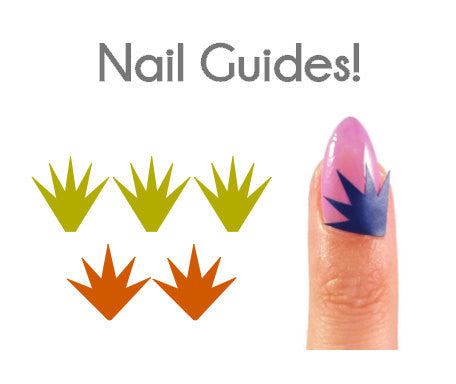 Starbursts Vinyl Nail Guides