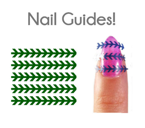 Stitching Vinyl Nail Guides