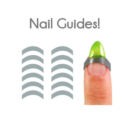 French Manicure Vinyl Nail Guides