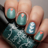 Triangle Nail Decals
