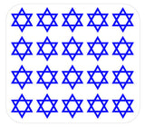Star of David Nail Decals