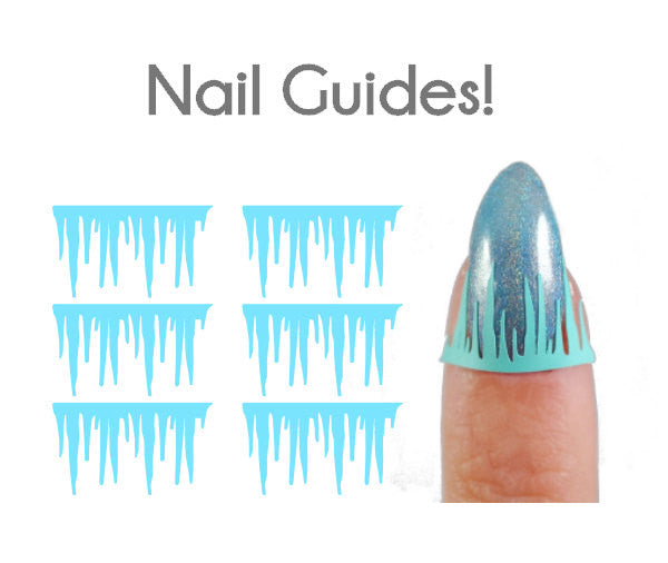 Icicle Vinyl Nail Guides