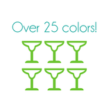 Margarita Glass Nail Decals
