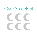 Crescent Moon Nail Decals