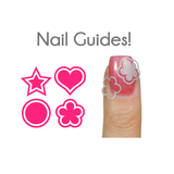 Nested Basic Shapes Vinyl Nail Guides