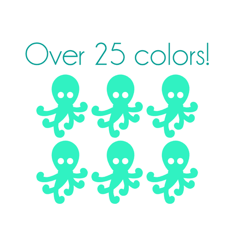 Octopus Nail Decals