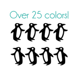 Penguin Nail Decals