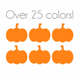 Pumpkin Nail Decals