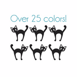 Scaredy Cat Nail Decals