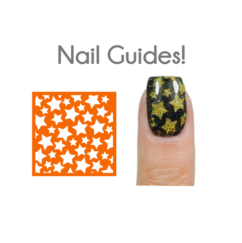 Star Shield Vinyl Nail Guides
