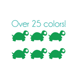 Turtle Nail Decals