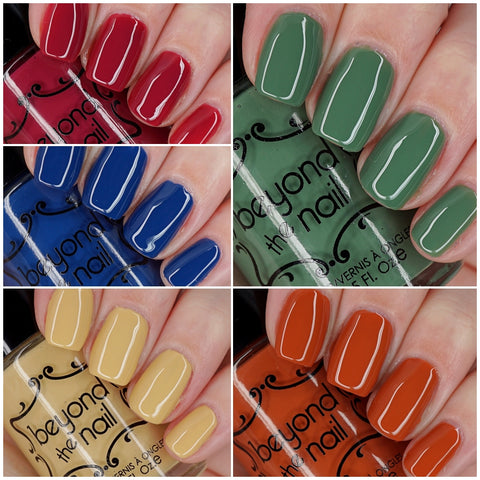 Under the Rainbow (Full Collection of 5 Polishes)