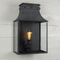 Bath Coach Lamps - Black