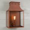 Bath Coach Lamps - Corten Steel
