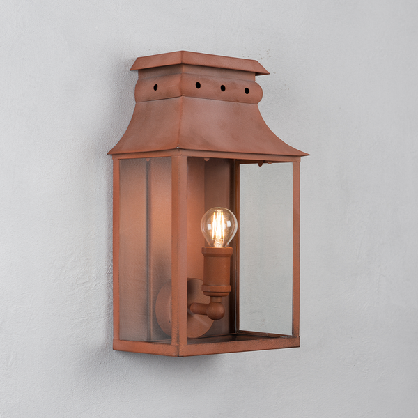 Bath Coach Lamps - Terracotta