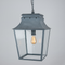 Bath Hanging Lanterns - Zinc