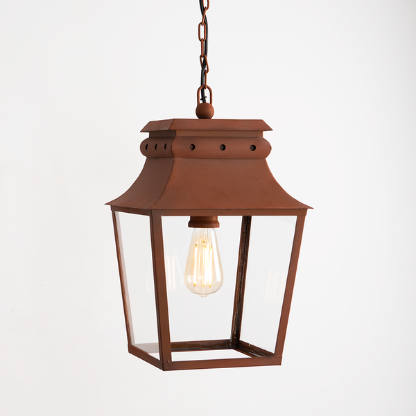 Bath Hanging Lanterns - Corten Steel
