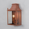 Blenheim Coach Lamps - Corten Steel