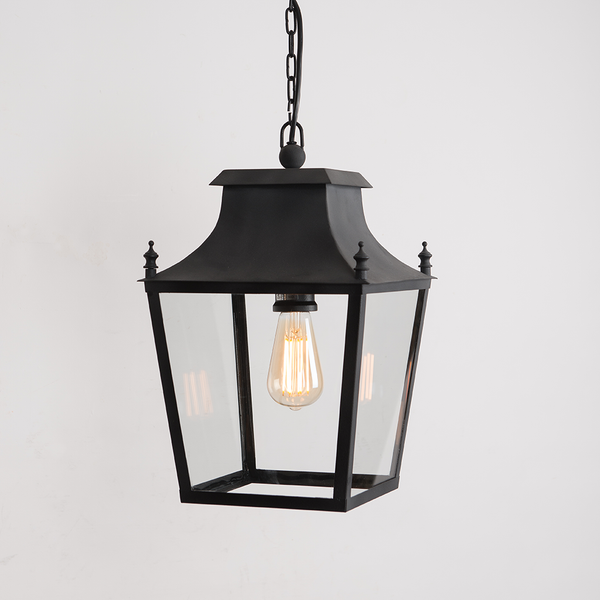 Blenheim Hanging Lanterns - Black