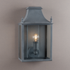 Blenheim Coach Lamps - Zinc