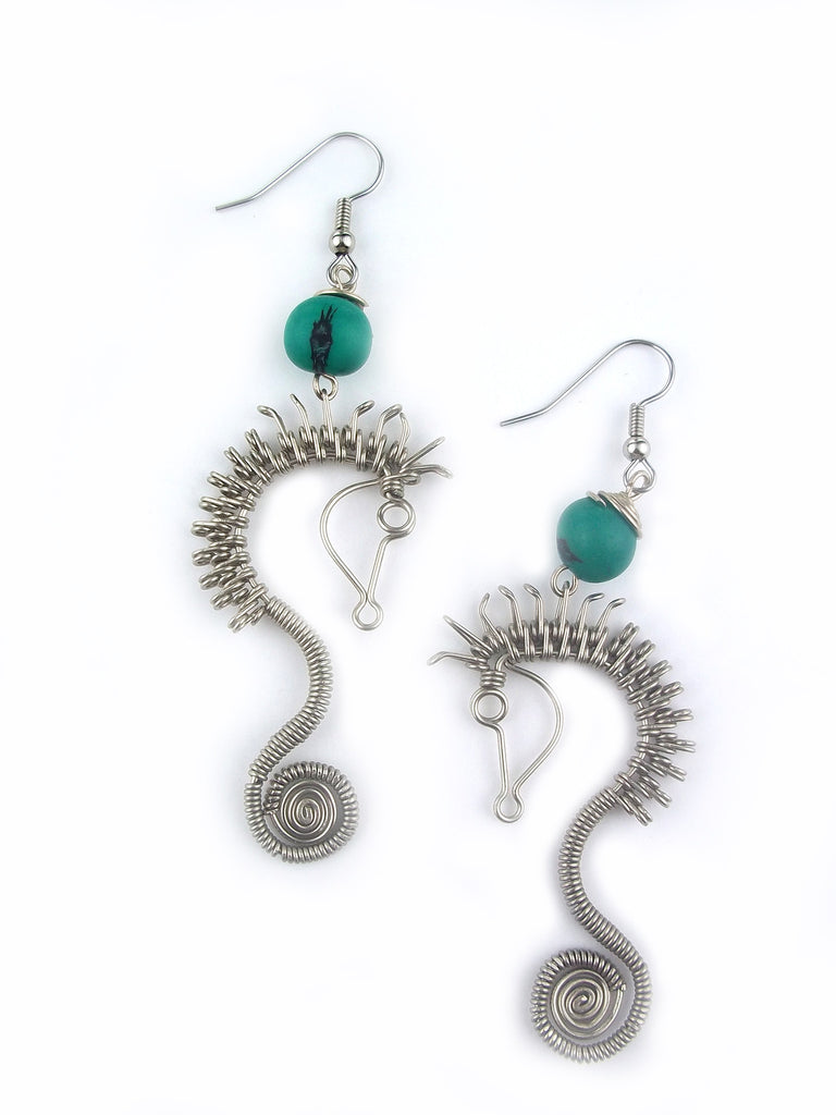 Wire Wrap Earring \