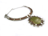 "Wire Wrap Necklace ""Elva"""