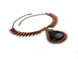 "Wire Wrap Necklace ""Marcy"""