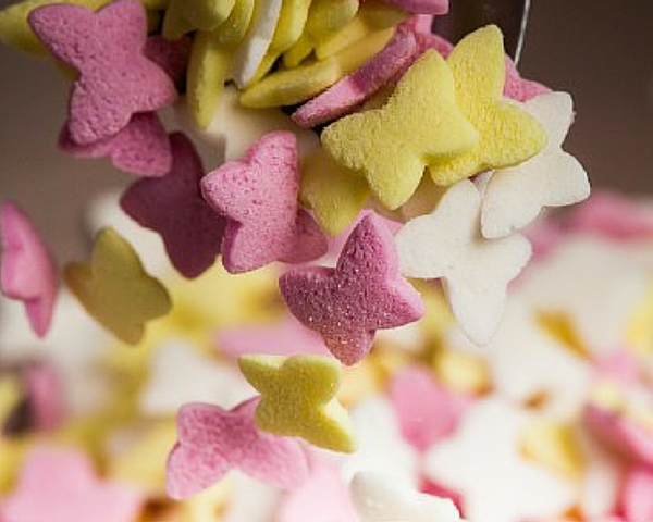 Pastel Butterfly Sprinkles 60g