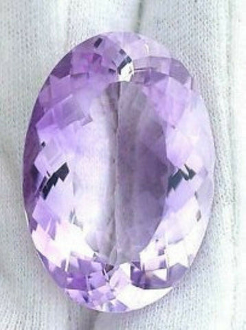 Amethyst Gem Oval Cut 1 Ct Purple Brazil Natural Violet