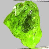 Peridot Rough Facet Gem Lime Green Pakistan Natural 4 ct