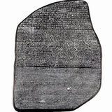 Rosetta Stone Replica Louvre Egyptian Wall Sculpture Reproduction Ancient Egypt Tablet