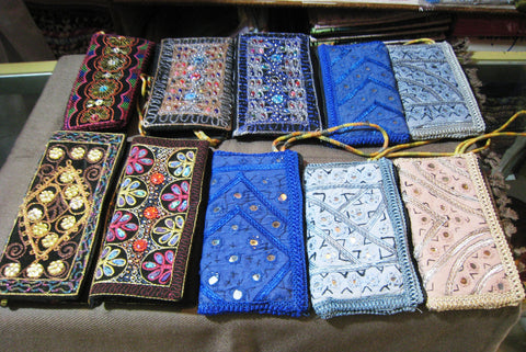 e543545a22c embroidered clutch purse hand bag womens ladies indian – Induscarpets