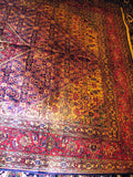 PERSIAN RUG ORIENTAL carpet genuine tabriz iran iranian esfahan 6.5x9.5 handmade 100% wool traditional tabreez bedroom pink large 400 kpsi