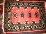 Persian Rug Small Size, 2x3, Silk Wool Blend
