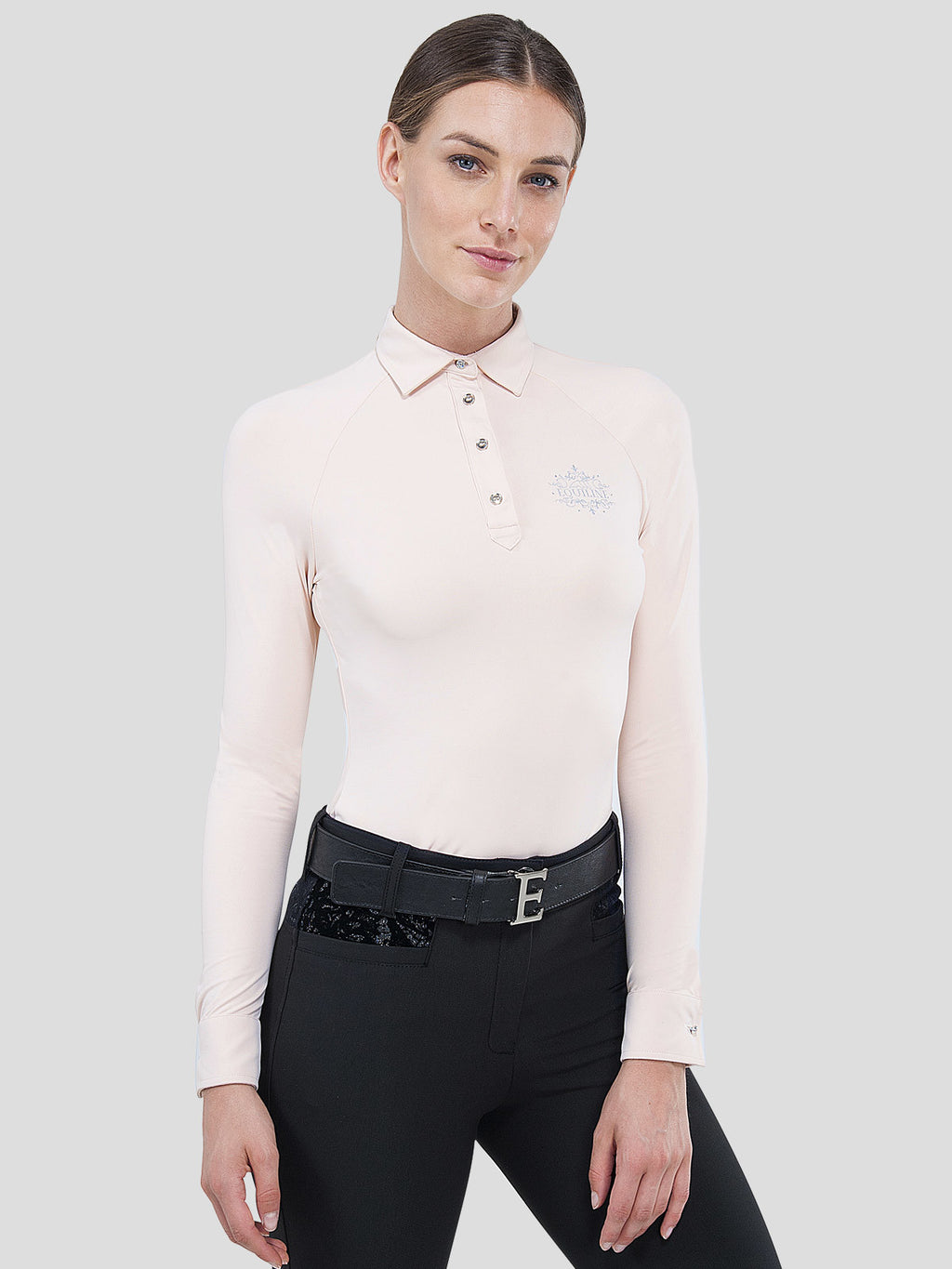 Flamingo - Women's Tech Polo with Long Sleeves